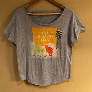 Classic vintage-inspired tee